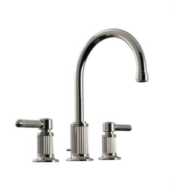 "Santec 3620EN97 Enzo Widespread Lavatory with EN Handles (Includes 1/2"" Valves and 1-1/4"" Pop-Up Drain Assembly with Overflow) Spout CxC 7"", Height of Spout End from Base 11-1/4"" With Finish: Roman Bronze <strong>(USUALLY SHIPS IN 2-3 WEEKS)</strong>"