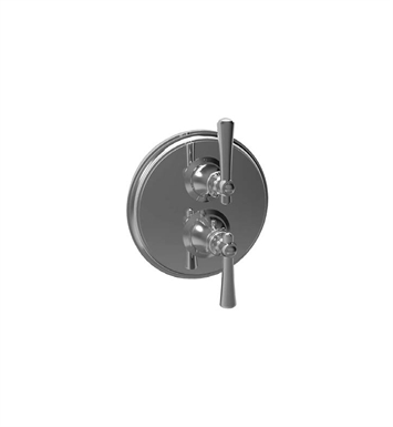 Santec 7095VO14 Vogue VO Style Dual Thermostatic Handle with Volume Control & Trim Plate With Finish: Gunmetal Gray <strong>(USUALLY SHIPS IN 2-4 WEEKS)</strong>