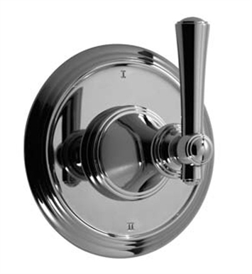 Santec DT3-VO88-TM Vogue VO Style Wall Mount 3 Way Diverter Trim With Finish: Bright Pewter <strong>(USUALLY SHIPS IN 2-4 WEEKS)</strong> And Configuration: Trim Only
