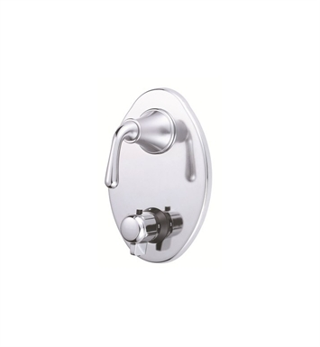 Danze Bannockburn™ Two Handle Thermostatic Shower Trim Kit in Chrome
