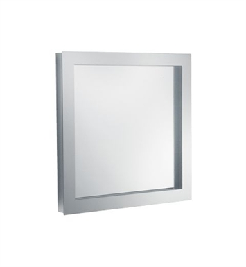 "Keuco 30096012050 Edition 300 25"" Lighted Mirror with Chrome-plated Metal Frame"