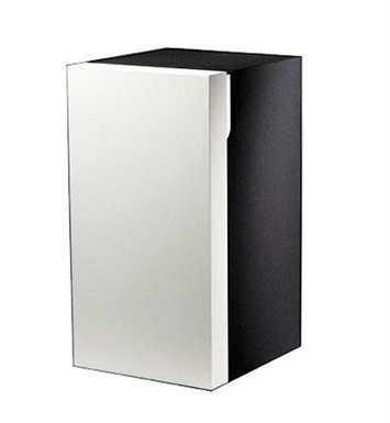 Keuco 30330214001 Edition 300 Modern Medicine Bathroom Cabinet With Configuration: Hinge: Left| Body Finish: High Gloss White Alpine | Front Finish: Sahara |