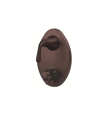 Danze D560156RBT Bannockburn™ Two Handle Thermostatic Shower Trim Kit in Oil Rubbed Bronze