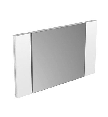 "Keuco 11196003550 Edition 11 Modern Bathroom Light Mirror With Dimensions: Size: W 96 1/2"" x H 24"" x D 2 5/8"""