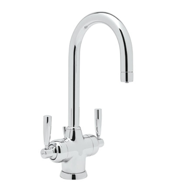 Rohl U-1335-2 Conteporary 2-Lever Lavatory Faucet