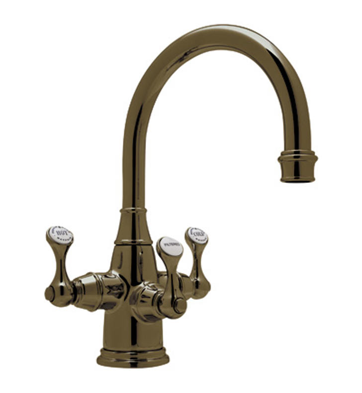 Rohl U 1320 2 Perrin Rowe Traditional 3 Lever Lavatory Faucet