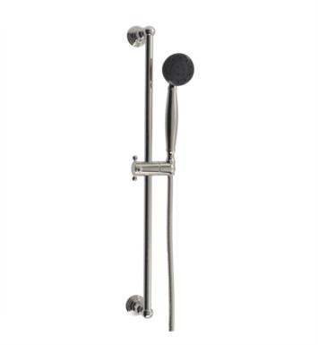 "Santec 95847510 Multifunction Hand Shower with Slide Bar (Slide Bar 27"" Long, Hose 57"" Long, 3 Function Sprayer) Supply Elbow Not Included With Finish: Polished Chrome <strong>(USUALLY SHIPS IN 2-3 WEEKS)</strong>"