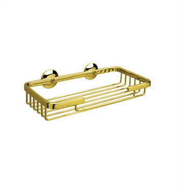 Rohl BSK14-TCB Rectangular Soap Basket With Finish: Tuscan Brass <strong>(SPECIAL ORDER, NON-RETURNABLE)</strong>