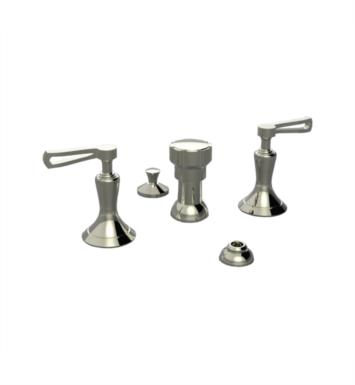 Santec 9570KR80 Klassica II Bidet Fitting with KR Handles With Finish: Standard Pewter <strong>(USUALLY SHIPS IN 4-5 WEEKS)</strong>