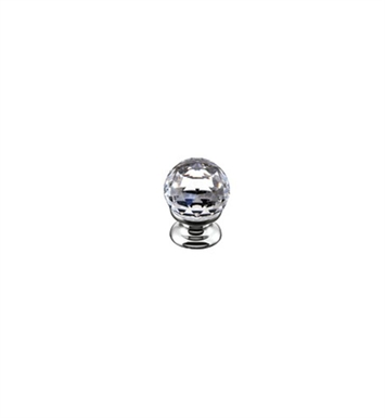 "Rohl A1479C-PN Country Crystal 1 3/16"" Pull Knob With Finish: Polished Nickel"