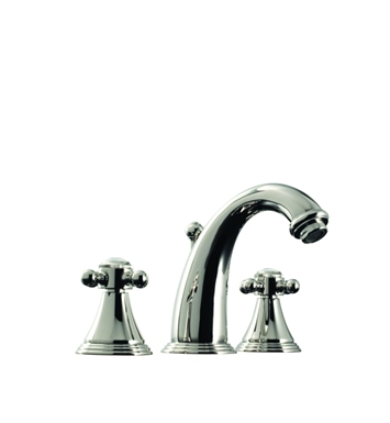 Santec 2220CX45 Kriss IV Widespread Lavatory Set with CX Style Handles With Finish: Satin Bronze <strong>(USUALLY SHIPS IN 2-4 WEEKS)</strong>
