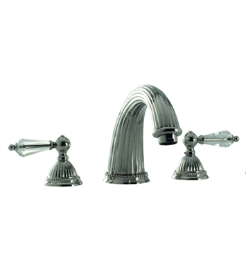 Santec 1150LC Monarch Crystal II Roman Tub Filler Set with LC Style Handles