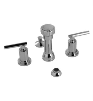 "Santec 3570TJ Modena III Bidet Fitting with TJ Handles (Includes Integral Vacuum Breaker, Aerated Spray, 1-1/4"" Pop-Up Drain Assembly)"