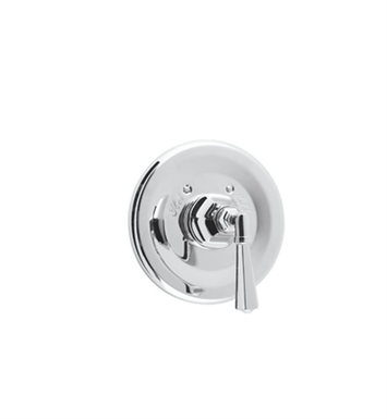 Rohl A4814LM-STN Palladian Thermostatic Shower Valve Trim (Trim Only) With Finish: Satin Nickel And Handles: Palladian Metal Lever Handles