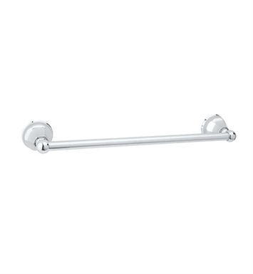 "Rohl A6886-18-TCB 18"" Palladian Single Towel Bar With Finish: Tuscan Brass <strong>(SPECIAL ORDER, NON-RETURNABLE)</strong>"