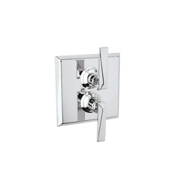 Rohl A4009LV-PN Vincent Thermostatic Shower Valve Trim (Trim Only) With Finish: Polished Nickel