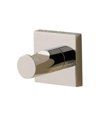 Valsan 67611NI Braga Bathroom Hook With Finish: Polished Nickel