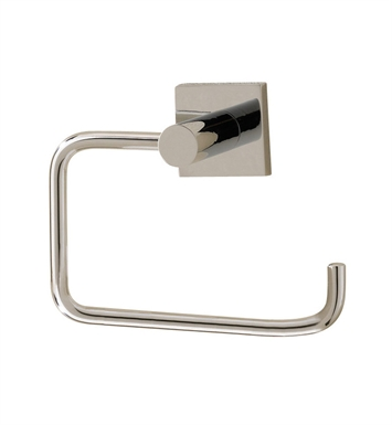 Valsan 67624ES Braga Bathroom Toilet Paper Holder With Finish: Satin Nickel