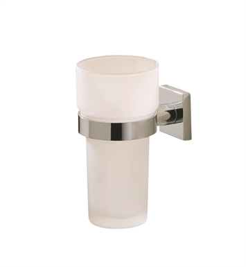 Valsan 67625ES Braga Bathroom Tumbler Holder With Finish: Satin Nickel