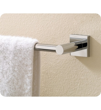 Valsan 67646ES Braga Bathroom Towel Rail With Finish: Satin Nickel