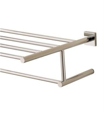 Valsan 67663ES Braga Bathroom Towel Rack With Finish: Satin Nickel