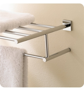 Valsan 676632NI Braga Bathroom Towel Rack With Finish: Polished Nickel