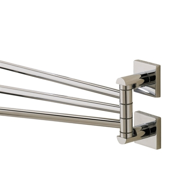 Valsan 67670CR Braga Bathroom Adjustable Towel Rail With Finish: Chrome