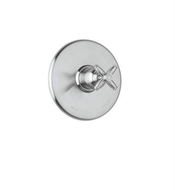 Rohl MB1938LM-STN Michael Berman Pressure Balanced Shower Valve Trim (Trim Only) with Volume Control With Finish: Satin Nickel And Handles: Michael Berman Metal Lever Handles