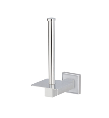 Valsan 67422 Cubis Plus Bathroom Spare Toilet Paper Holder