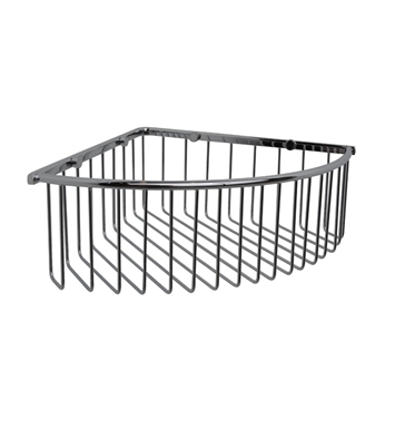 Valsan 53434CR Essentials Bathroom Corner Wire Soap Basket With Finish: Chrome