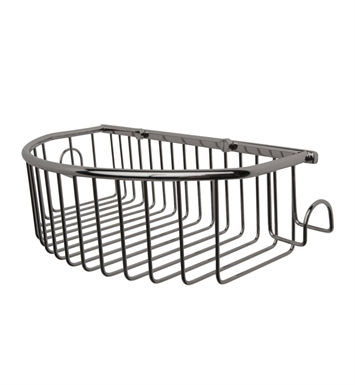 Valsan 53435 Essentials Bathroom Curved Wire Soap Basket