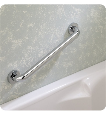 Valsan 54204NI Essentials Bathroom Grab Bar With Finish: Polished Nickel