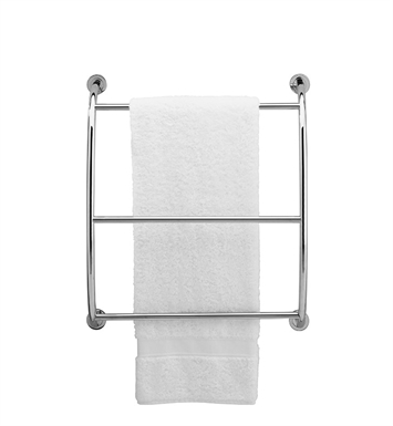 Valsan 57200CR Essentials Bathroom Wall Mounted Towel Rack With Finish: Chrome