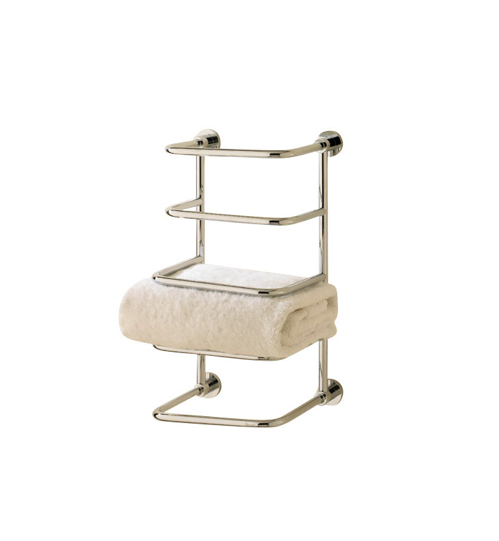 Valsan 57203es essentials bathroom towel stacker with for Valsan bathrooms