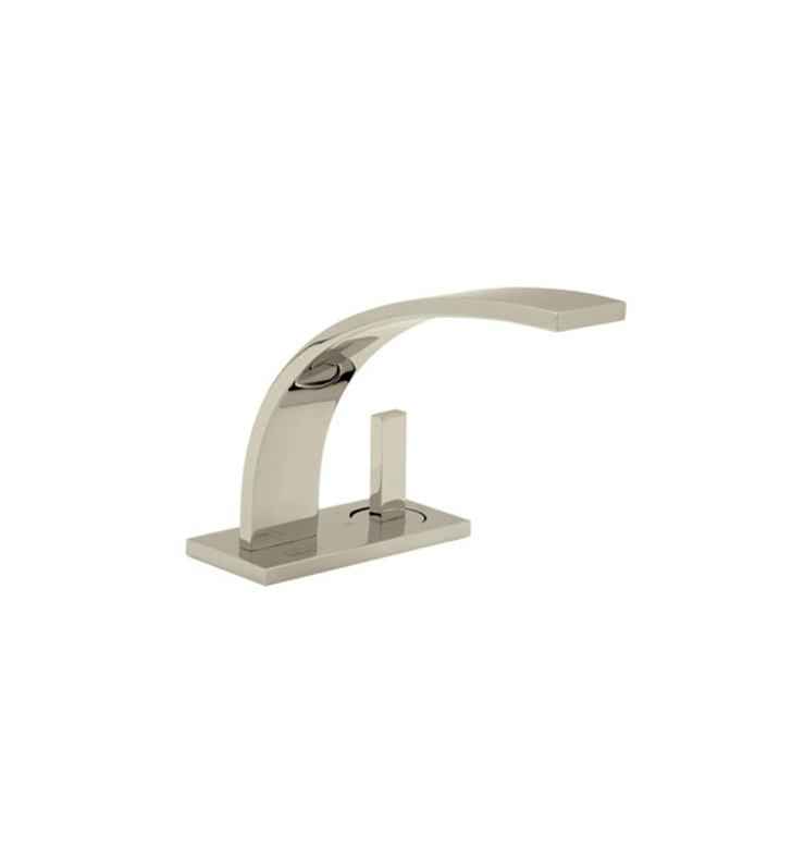 Rohl Wa652l 2 Wave Bathroom Faucet With Pop Up Drain