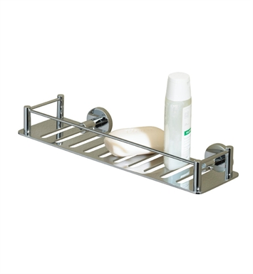 Valsan 53608NI Essentials Bathroom Shelf With Finish: Polished Nickel