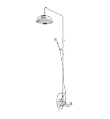 Rohl AKIT48173-PN Palladian Shower System with Hand Shower, Riser and Diverter With Finish: Polished Nickel