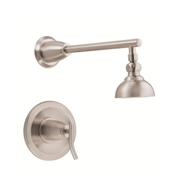 Danze D504554BNT Sonora™ Trim Only Single Handle Pressure Balance Shower Faucet in Brushed Nickel