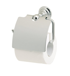 Valsan 66320 Kingston Toilet Paper Holder with Lid