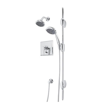 Rohl AKIT13-APC Vincent Pressure Balance Shower Package With Finish: Polished Chrome