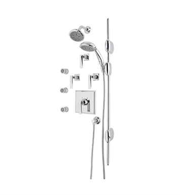 Rohl AKIT16-STN Vincent Thermostatic Shower Package With Finish: Satin Nickel