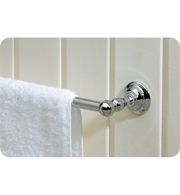 Valsan 66346PV Kingston Towel Bar With Finish: Polished Brass