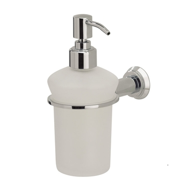 Valsan 67184CR Nova Bathroom Liquid Soap Dispenser With Finish: Chrome