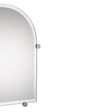 Valsan 671011 Nova Bathroom Mirror with Fixing Caps