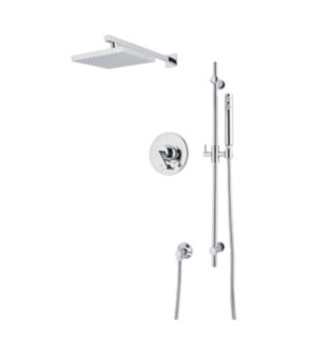 Rohl WAVEKIT37L Wave Pressure Balance Shower Package with Single Function Showerhead