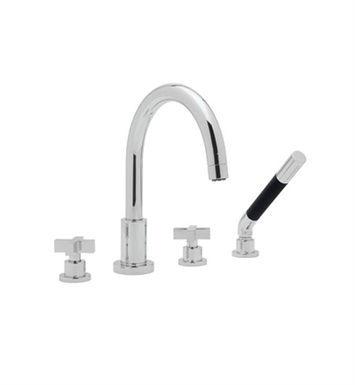 Rohl BA26 Modern Roman Tub Faucet with Single Function Hand Shower