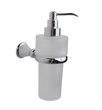 Valsan 66884ES Sintra Bathroom Liquid Soap Dispenser With Finish: Satin Nickel