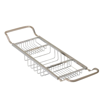Valsan 53413 Valdemar Dos Santos Bathroom Adjustable Bathtub Rack