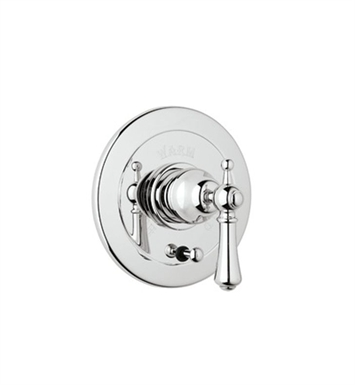 Rohl U.7700X-IB Georgian Era Shower Valve Trim (Trim Only) with Diverter and Metal Cross Handle With Finish: Inca Brass <strong>(SPECIAL ORDER, NON-RETURNABLE)</strong>