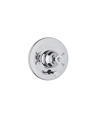 Rohl U.2700X-PN Georgian Era Shower Valve Trim (Trim Only) with Diverter and Metal Cross Handle With Finish: Polished Nickel